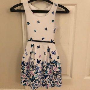 Toddler butterfly dress